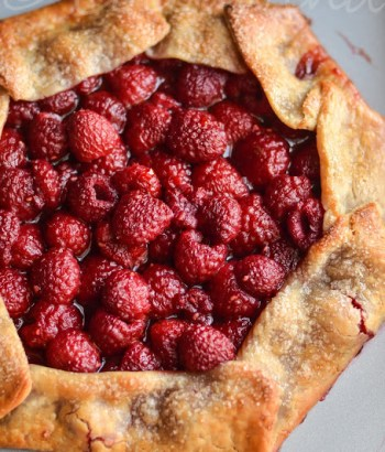 Semi-homemade Raspberry Galette