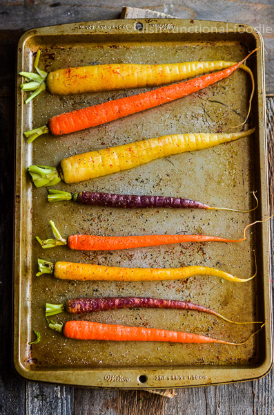 Oven Roasted Whole Carrots