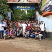 Orientation Visit @ Gandhibhavan Pathanapuram on 3/08/2013