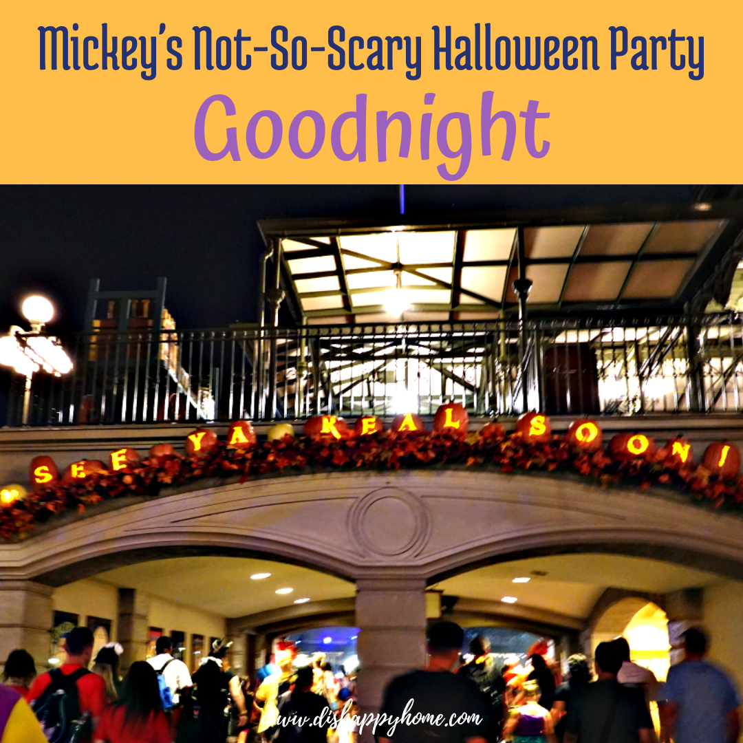 Mickey's Not-So-Scary Halloween Party 2018: Worth It