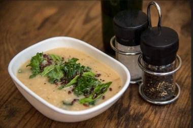 Kale and Millet Soup