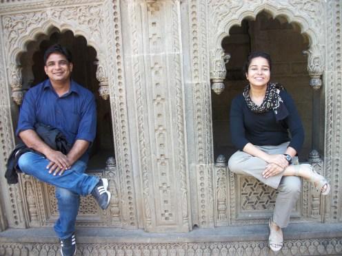 Me and Vikas Bhaiya