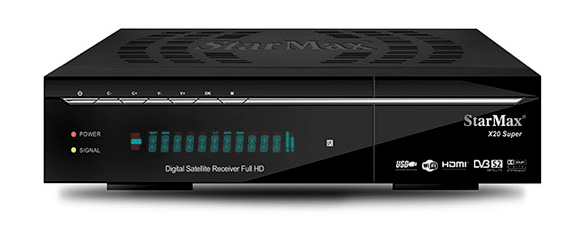 StarMax X20 Super Full HD Receiver Software