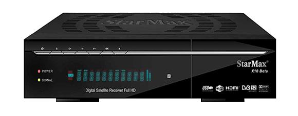 StarMax X10 Beta Full HD Receiver Software