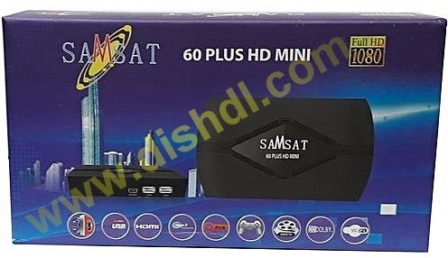 SAMSAT 60 PLUS HD MINI SOFTWARE UPDATE