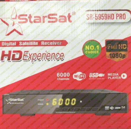 Starsat SR-5959HD PRO New Firmware Update