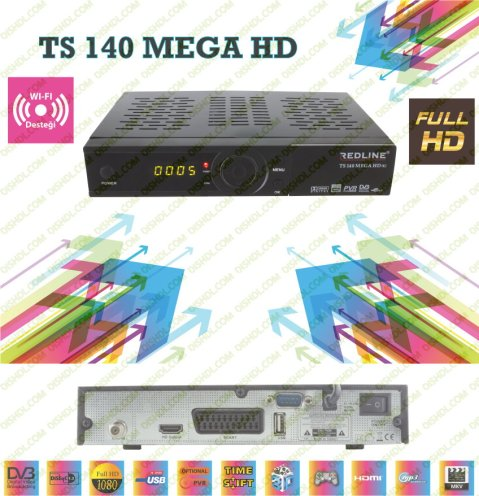 REDLINE TS 140 MEGA HD New Firmware Update