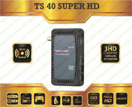REDLINE TS 40 SUPER HD New Firmware Update