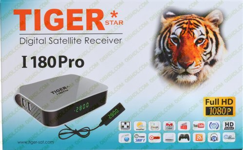 TIGER I 180 PRO Receiver Software New Update