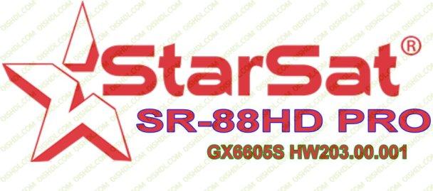 STARSAT SR-88HD PRO SOFTWARE
