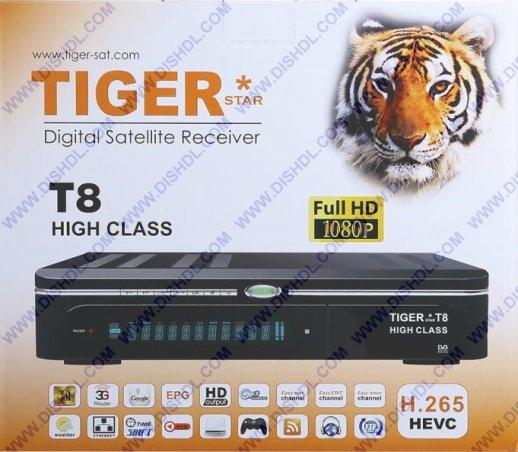 UPDATE TIGER T8 HIGH CLASS  SOFTWARE