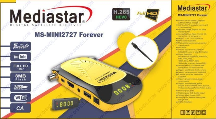 MEDIASTAR MS-MINI2727 FOREVER SOFTWARE