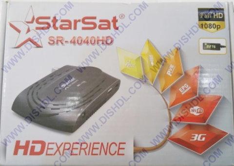 Starsat SR-4040HD Software Update