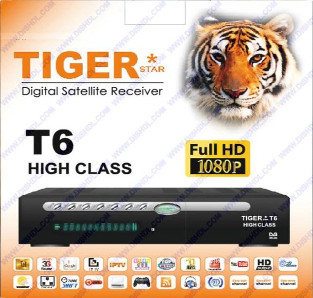 TIGER T6 HIGH CLASS NEW SOFTWARE UPDATE