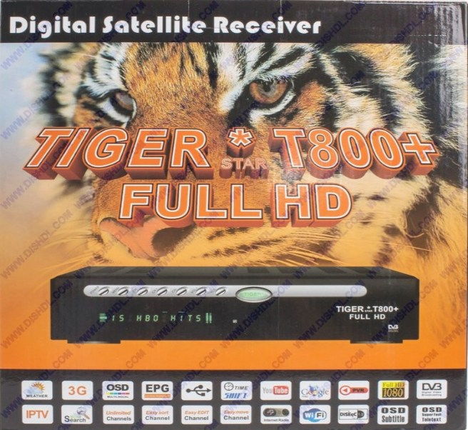 TIGER T800 PLUS FULL HD NEW SOFTWARE UPDATE