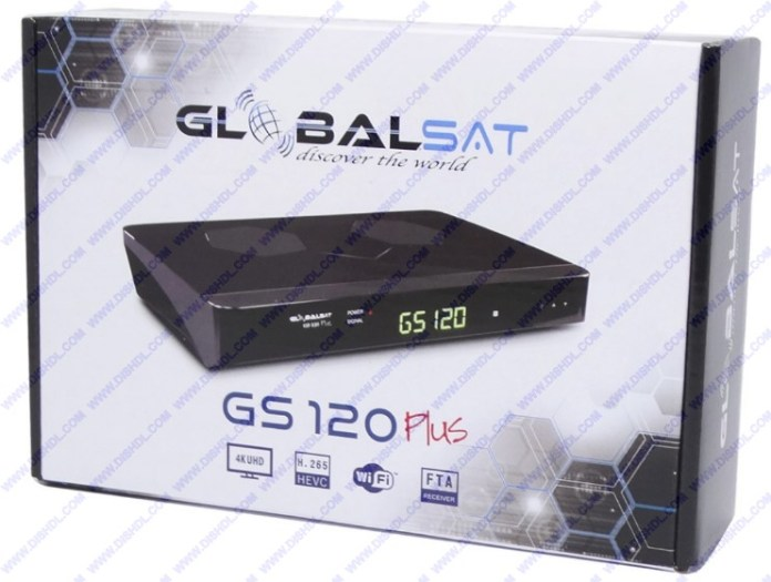 GLOBALSAT GS-120 PLUS NEW SOFTWARE UPDATE