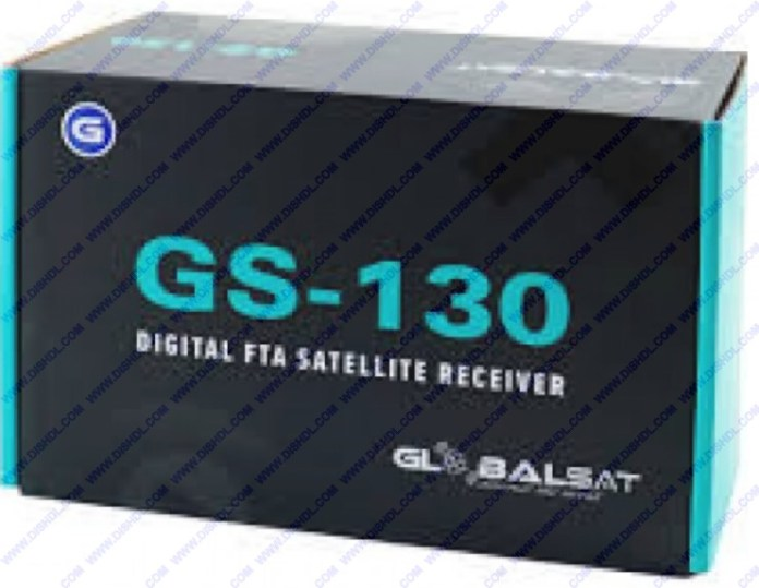 GLOBALSAT GS-130 NEW SOFTWARE UPDATE