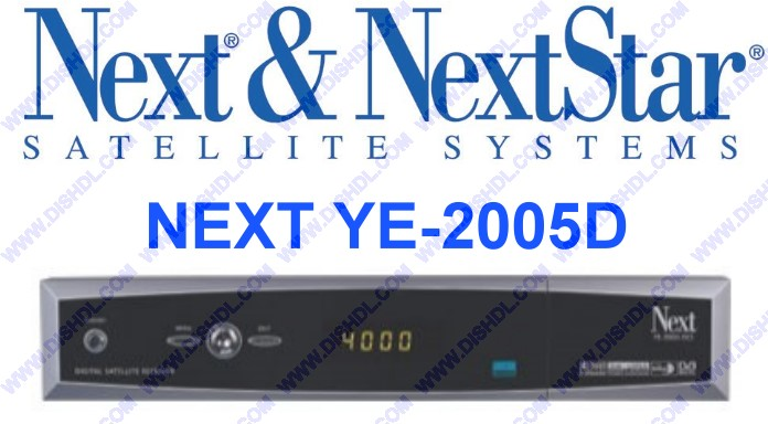 NEXT YE-2005D SOFTWARE UPDATE