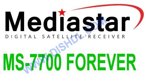 MEDIASTAR MS-7700 FOREVER RECEIVER SOFTWARE