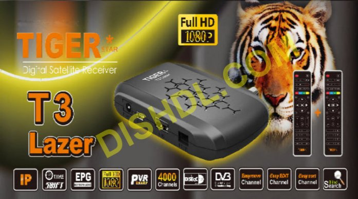 TIGER T3 LAZER NEW SOFTWARE