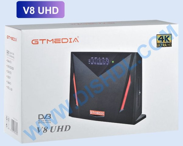GTMEDIA V8UHD NEW SOFTWARE UPDATE