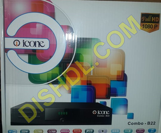 ICONE COMBO B22 Receiver Software Update