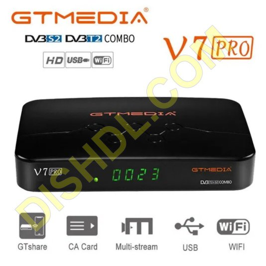 GTMEDIA V7 PRO NEW SOFTWARE UPDATE