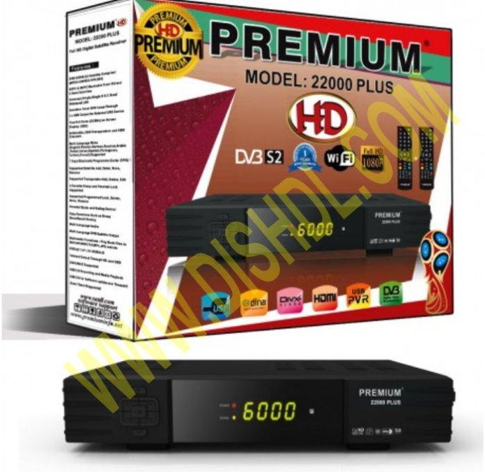 PREMIUM 22000 PLUS HD RECEIVER SOFTWARE UPDATE