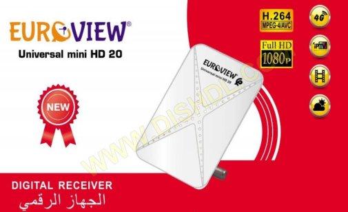 EUROVIEW UNIVERSAL MINI HD 20 SOFTWARE