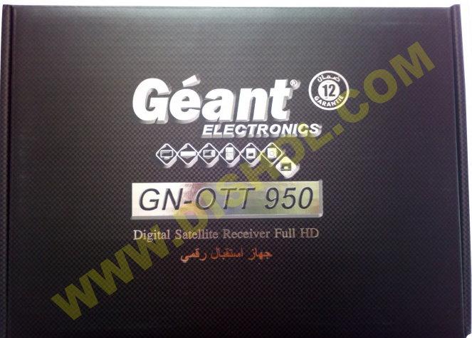 GEANT GN-OTT 950 SOFTWARE UPDATE