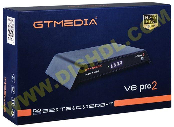 GTMEDIA V8 PRO2 NEW SOFTWARE UPDATE