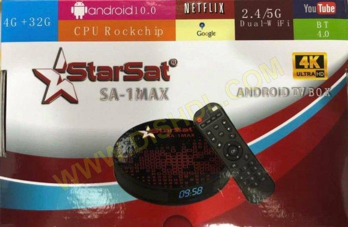 STARSAT SA-1 MAX ANDROID TV BOX