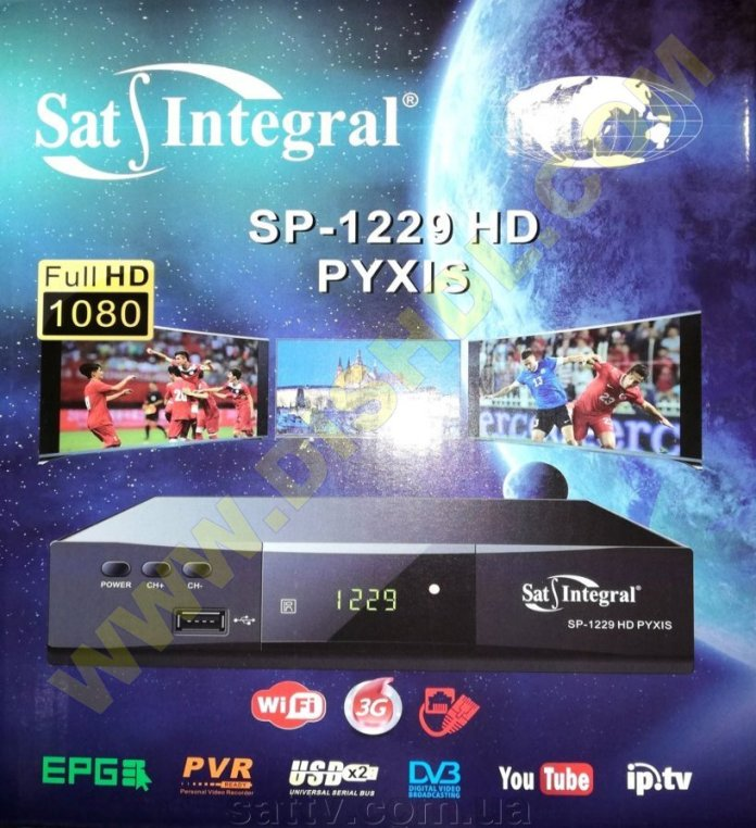 SAT-INTEGRAL SP-1229HD PYXIS SOFTWARE UPDATE