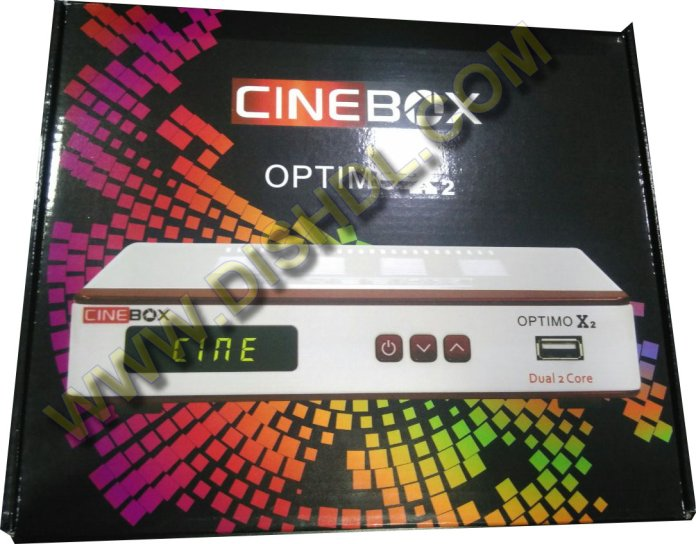 CINEBOX OPTIMO X2 NEW SOFTWARE UPDATE