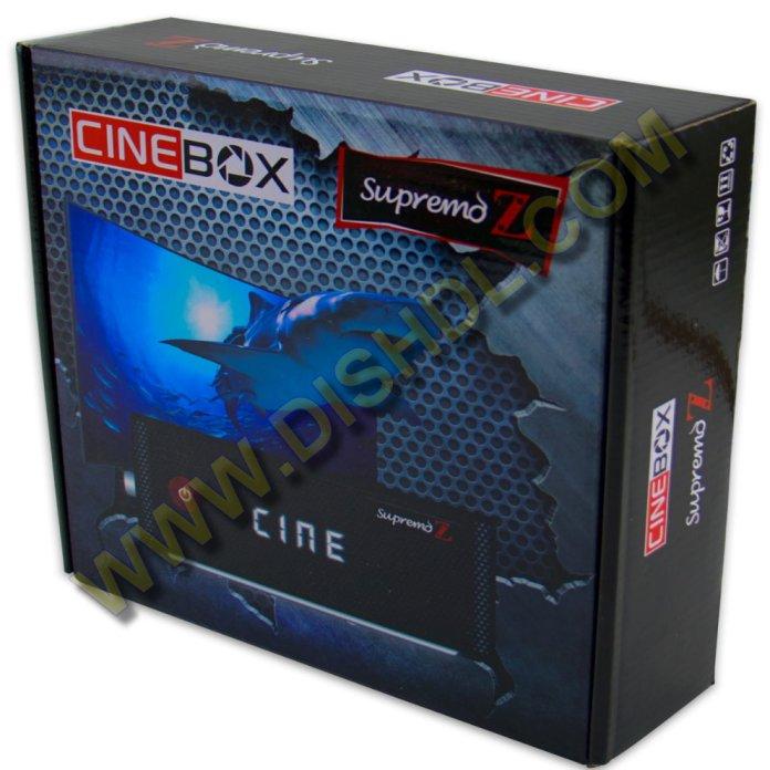 CINEBOX SUPREMO Z NEW SOFTWARE UPDATE