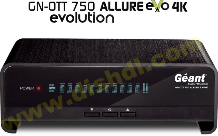GEANT GN-OTT 750 4K EVO ALLURE SOFTWARE