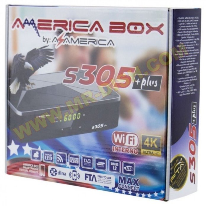 AZAMERICA S305 PLUS RECEIVER SOFTWARE