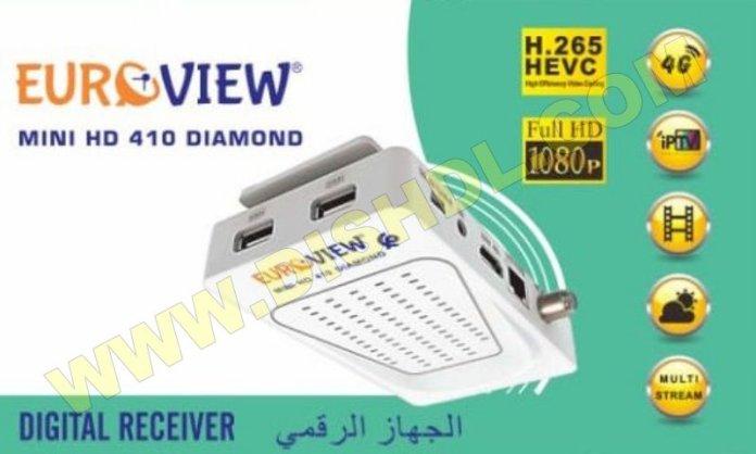 EUROVIEW MINI HD 410 DIAMOND NEW SOFTWARE