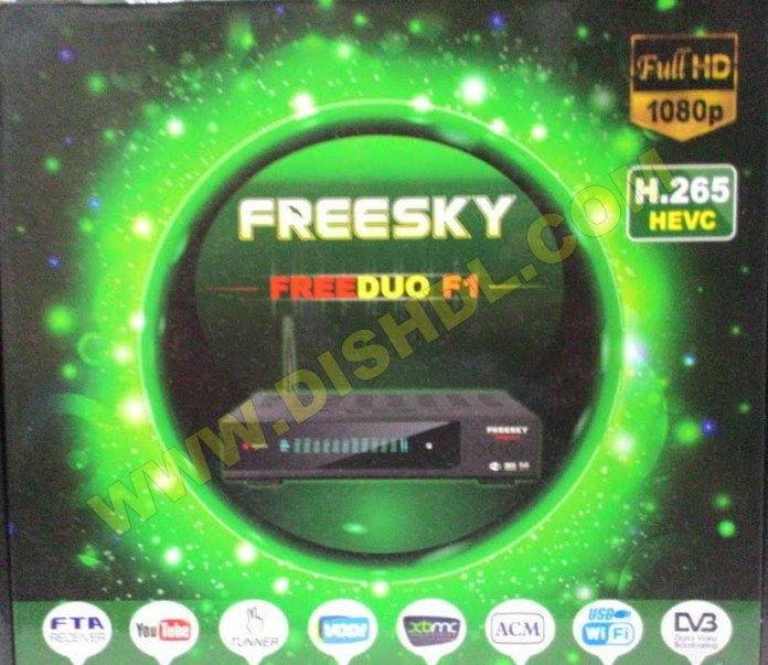 FREESKY FREEDUO F1 NEW SOFTWARE UPDATE