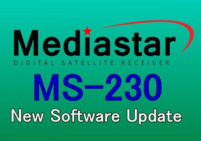 MEDIASTAR MS-230 NEW SOFTWARE UPDATE