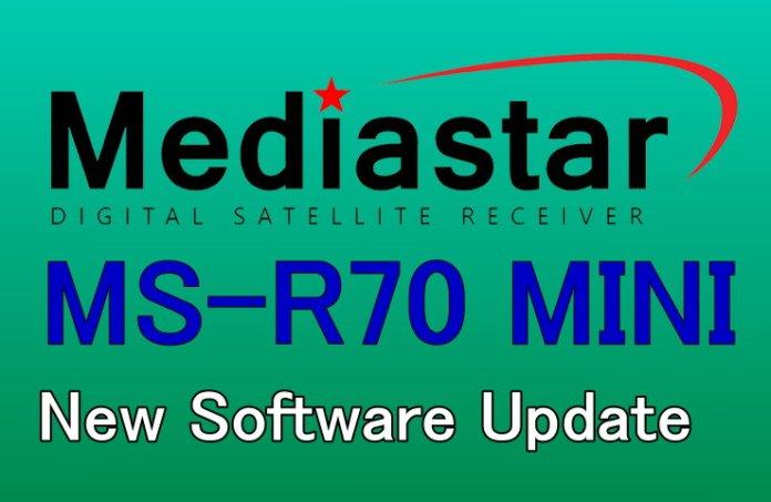 MEDIASTAR MS-R70 MINI NEW SOFTWARE UPDATE