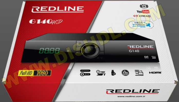 REDLINE G140 HD RECEIVER SOFTWARE UPDATE