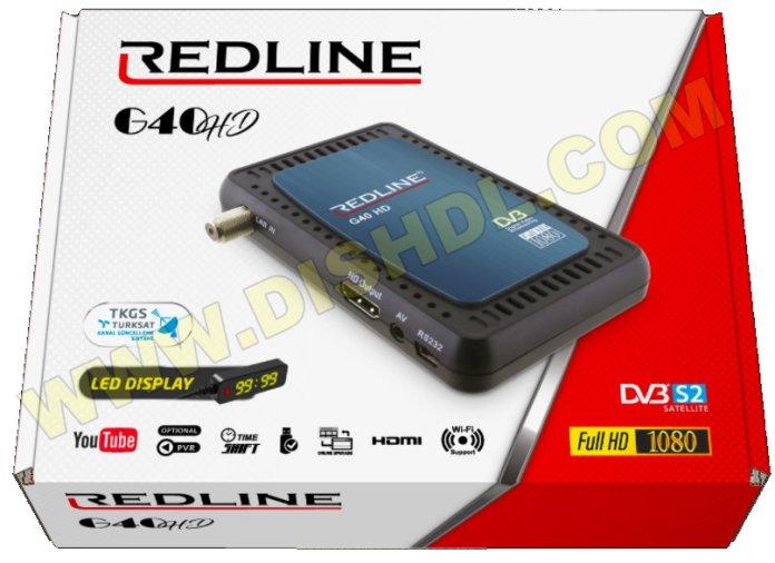 REDLINE G40 HD RECEIVER SOFTWARE UPDATE