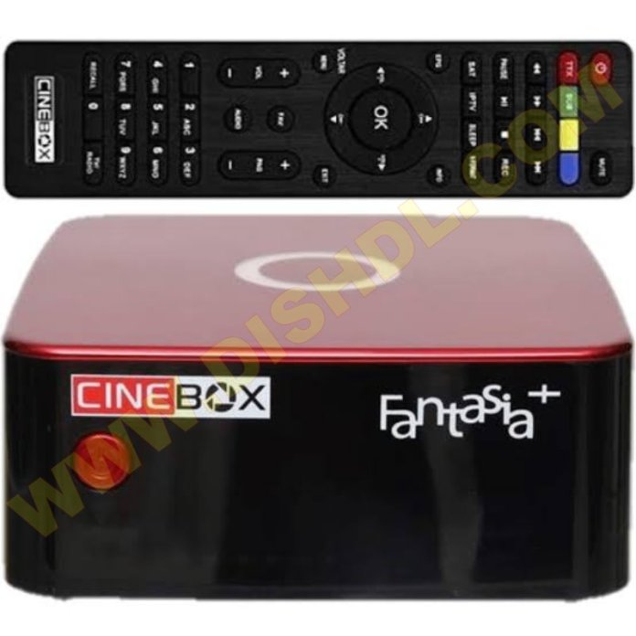 CINEBOX FANTASIA PLUS NEW SOFTWARE UPDATE