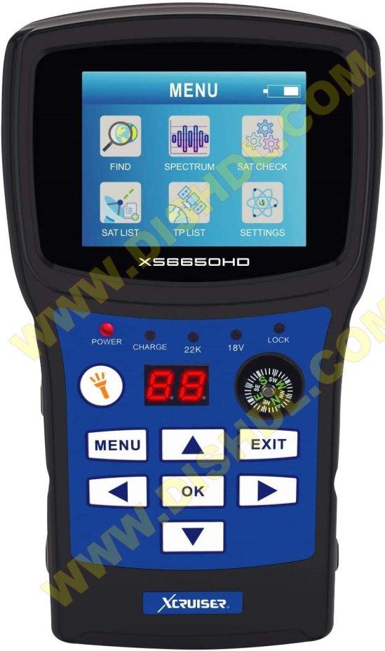 XCRUISER DIGITAL FINDER XS6650HD SOFTWARE
