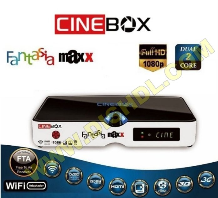 CINEBOX FANTASIA MAXX HD SOFTWARE UPDATE
