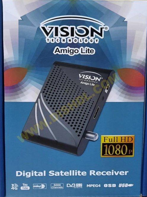 VISION AMIGO LITE NEW SOFTWARE UPDATE