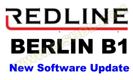 REDLINE BERLIN B1 RECEIVER SOFTWARE UPDATE