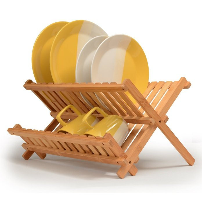 best folding dish rack
