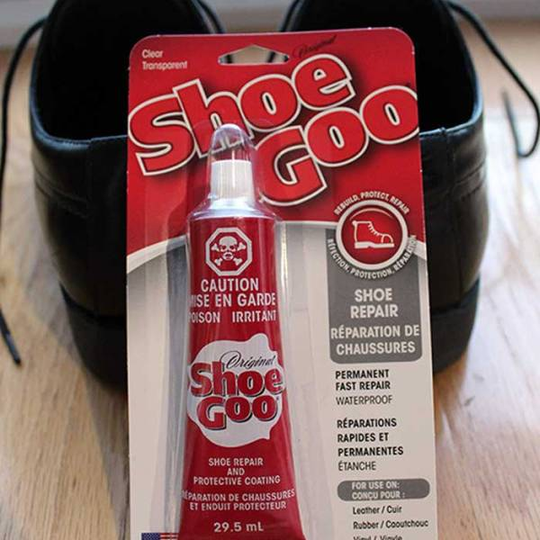 """Review – DIY Shoe Repair using """"Shoe Goo"""" – Part 1"""